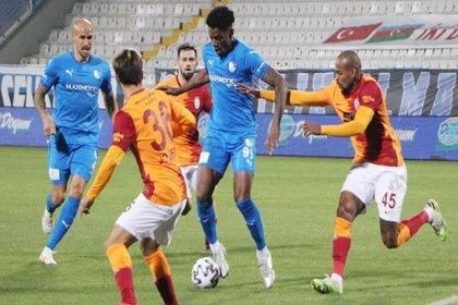 Galatasaray, Erzurumspor'u 2-1 mağlup etti