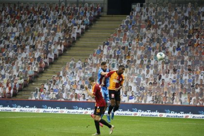 Galatasaray sahasında Trabzonspor'a 3-1 yenildi