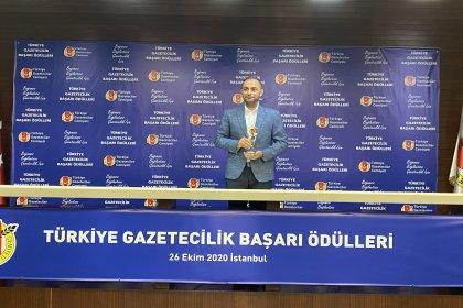 Gazeteci Murat Ağırel yılın köşe yazarı seçildi