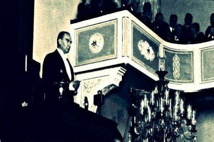 Gazi Mustafa Kemal, Nutuk'u 93 yıl önce Cumhuriyet Halk Partisinin 2. kurultayında 36,5 saat 6 gün okudu