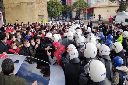 Hakları için yürüyüşe geçen metal işçilerine müdahale: 99 kişi gözaltında