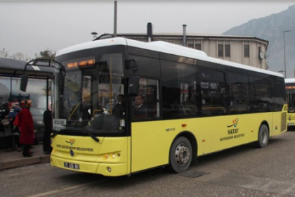Hatay'da toplu taşıma ücretlerindeki geçici zam kaldırıldı