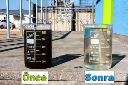 HATSU, günde 150 bin metreküp atık su arıtıyor