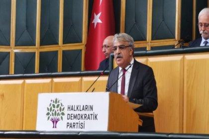 HDP Eş Genel Başkanı Sancar: Şimdi ihtiyaç erken seçimdir