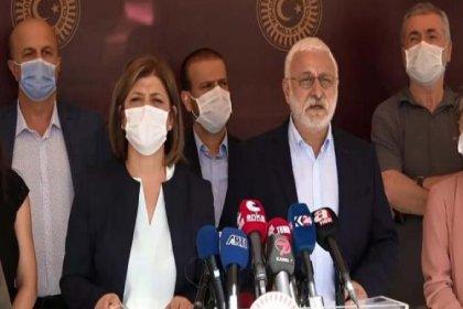 HDP'den gözaltılara karşı alkışlı protesto