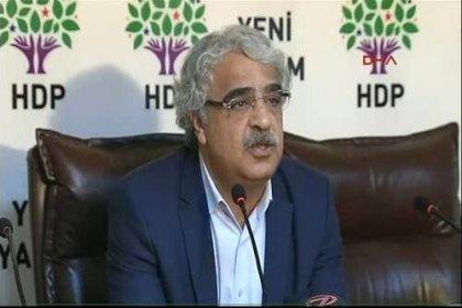 HDP'li Sancar: Demokratik meşru zemini kullanmaktan vazgeçmeyeceğiz