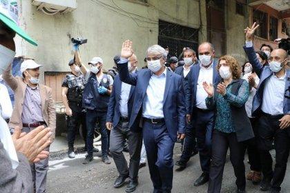 HDP'nin 'Demokrasi yürüyüşü' Hakkari'de başladı
