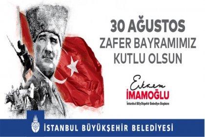 İBB, 30 Ağustos'u sosyal mesafeli etkinliklerle kutlayacak