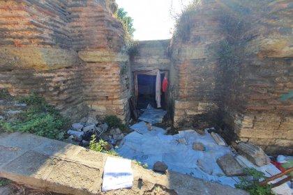 İBB, Aziz Polyeuktos Kilisesi'ni temizledi