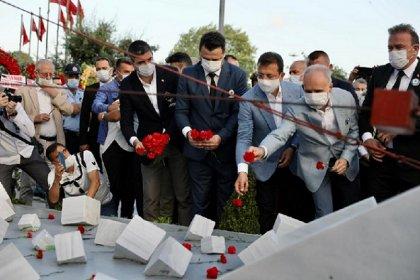 """İBB Başkanı Ekrem İmamoğlu, """"Srebrenica Boşnak Soykırımı 25. Yılı Anma Programı""""na katıldı"""