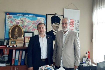 İBB İyi Parti Meclis üyesi Tufan Babar'dan İmambakır Üküş'e ziyaret
