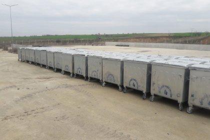İBB, Uzunköprü Belediyesi'ne konteyner hibe etti