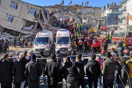 İçişleri Bakanlığı'ndan, Elazığ'a yapılan yardımlara ilişkin açıklama