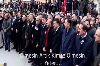İdlib şehidinin ağabeyi cenazede isyan etti: 'Dur' deyin artık kimse ölmesin, yeter