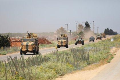 İdlib'de 13'üncü Türk-Rus devriyesi gerçekleşti