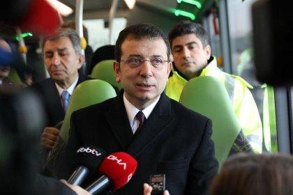 İkinci kez metrobüs aracı test eden İmamoğlu: 'Asıl çözüm metro'