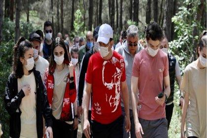 İmamoğlu, Atatürk Kent Ormanı'nı hizmete açtı