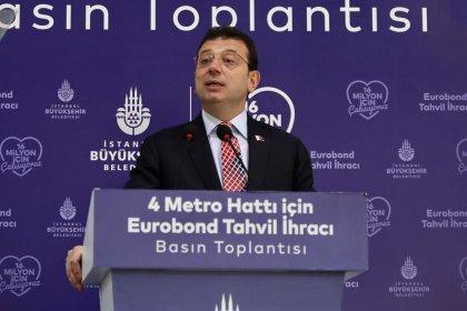 İmamoğlu: İBB olarak metro hatlarının finansmanı için 580 milyon dolarlık Eurobond ihraç ettik