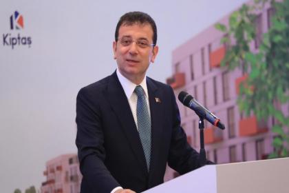 İmamoğlu KİPTAŞ konut tanıtımında konuştu: 'Hedef sağlık çalışanı ve dar gelirli'