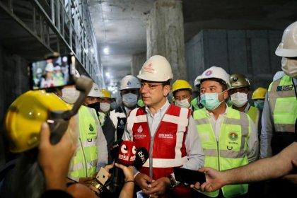 İmamoğlu'ndan İstanbul Havalimanı metrosu' açıklaması