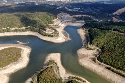 İSKİ: İstanbul'un içme suyu kaynaklarının doluluk oranı yüzde 67,32