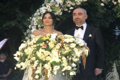 İsmail Saymaz ve Şeyda Sayar evlendi