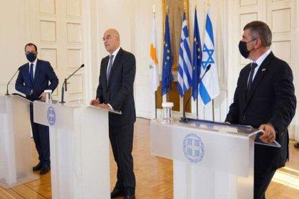İsrail, Yunanistan ve Güney Kıbrıs'tan ortak açıklama: Haritayı yeniden şekillendireceğiz