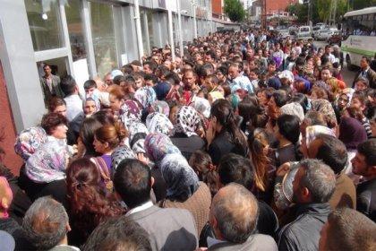 İşsizlik oranı yüzde 13,4'e yükseldi