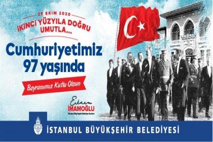 İstanbul Cumhuriyet Bayramı coşkusuna hazır