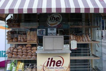 İstanbul Halk Ekmek ürünlerine yüzde 33 zam