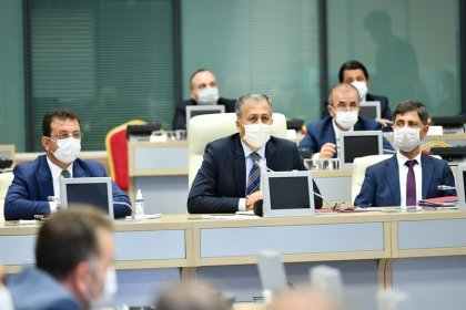 İstanbul İl Filyasyon Çalışmaları Takip Kurulu Toplantısı yapıldı
