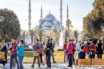 İstanbul'a gelen turist sayısı yüzde 99,9 azaldı