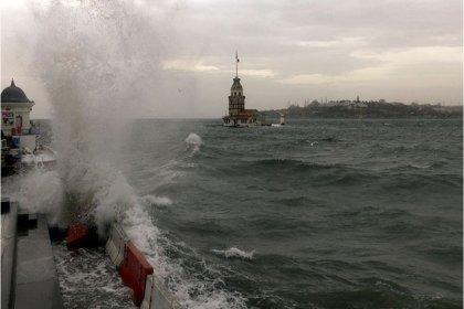 İstanbul'da çarşamba ve perşembe günleri için fırtına uyarısı