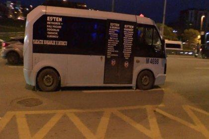 İstanbul'da fazla yolcu taşıyan minibüslerden görünmezlik hilesi