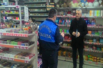 İstanbul'da marketlere müşteri sınırlaması denetimleri başladı