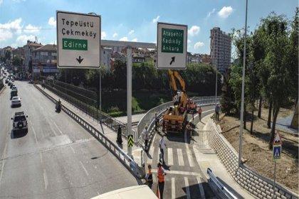 İstanbullulara trafikte 45 dakika kazandıracak Çakmak TEM Bağlantı Yolu açıldı