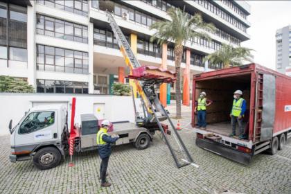 İzmir Büyükşehir Belediyesi Ana Hizmet Binası boşaltılıyor