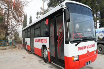 İzmir Büyükşehir Belediyesi, Burdur Belediyesi'ne otobüs hibe etti