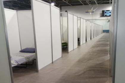 İzmir Büyükşehir Belediyesi, Naim Süleymanoğlu Spor Salonu'nu evsizlere açtı
