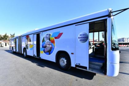 İzmir Büyükşehir Belediyesi'nden arama kurtarma ekipleri için mobil barınma aracı