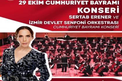 İzmir, Cumhuriyet Bayramı'nı Sertap Erener konseriyle kutlayacak