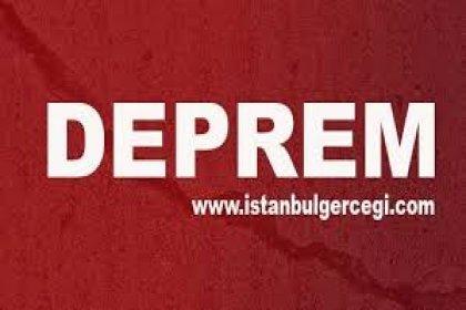İzmir Seferihisar'da 5.0 büyüklüğünde deprem