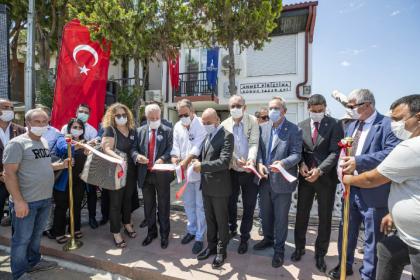 İzmir'de Ahmet Piriştina Konuk ve Yazar Evi açıldı