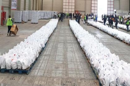 İzmir'de dayanışma paketleri artık Halkın Bakkalı'nda