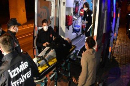 İzmir'de erkek arkadaşıyla tartışan genç kız İZBAN raylarına atladı
