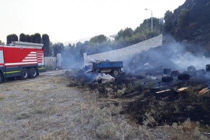 İzmir'de orman ve ev yangınları nedeniyle itfaiyede izinler kaldırıldı