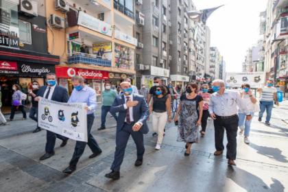 İzmir'de 'Otomobilsiz Kent Günü' kutlanıyor
