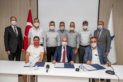 İzmir'de 'Süt Kuzusu Projesi' devam ediyor: Yeni sözleşme imzalandı