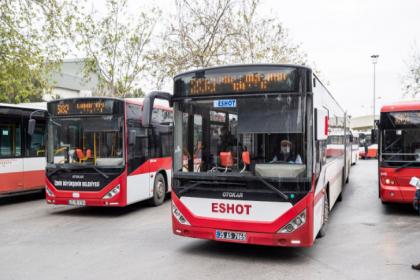 İzmir'de toplu ulaşımda yüzde 50 kuralı sona erdi