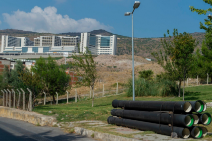 İZSU'dan Şehir Hastanesi'ne 3 km uzunluğunda içme suyu hattı